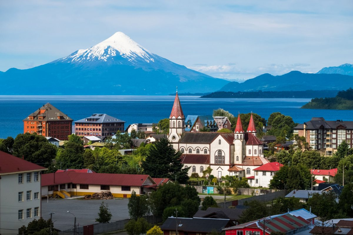 Chile lake Dostrict Puerto Varas