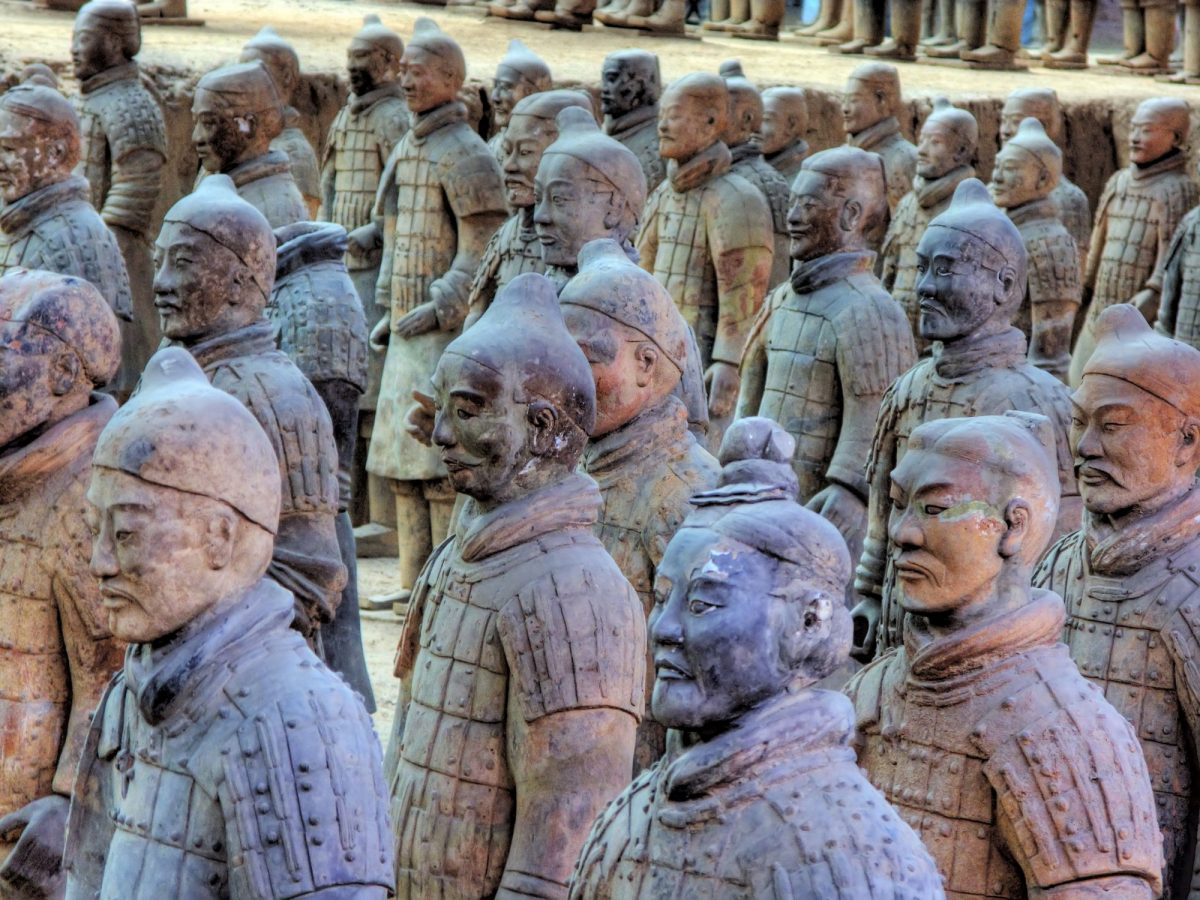 China Xian terracotta army