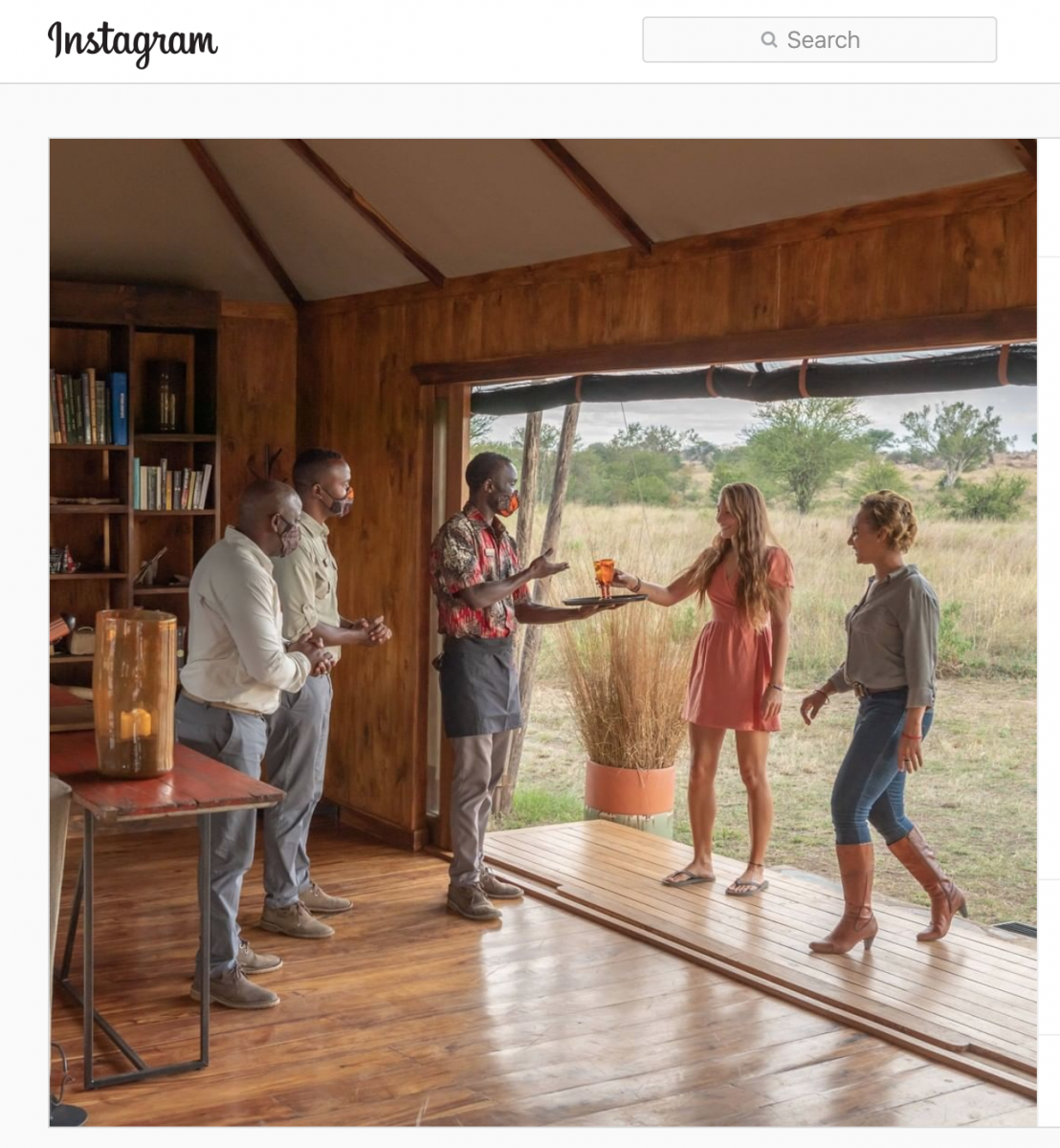 Colonial undertones in Africa safari marketing