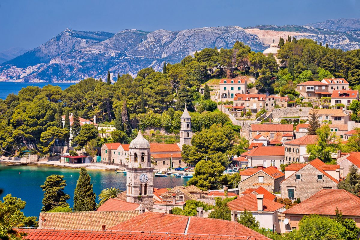Croatia Cavtat near the Konavle valley