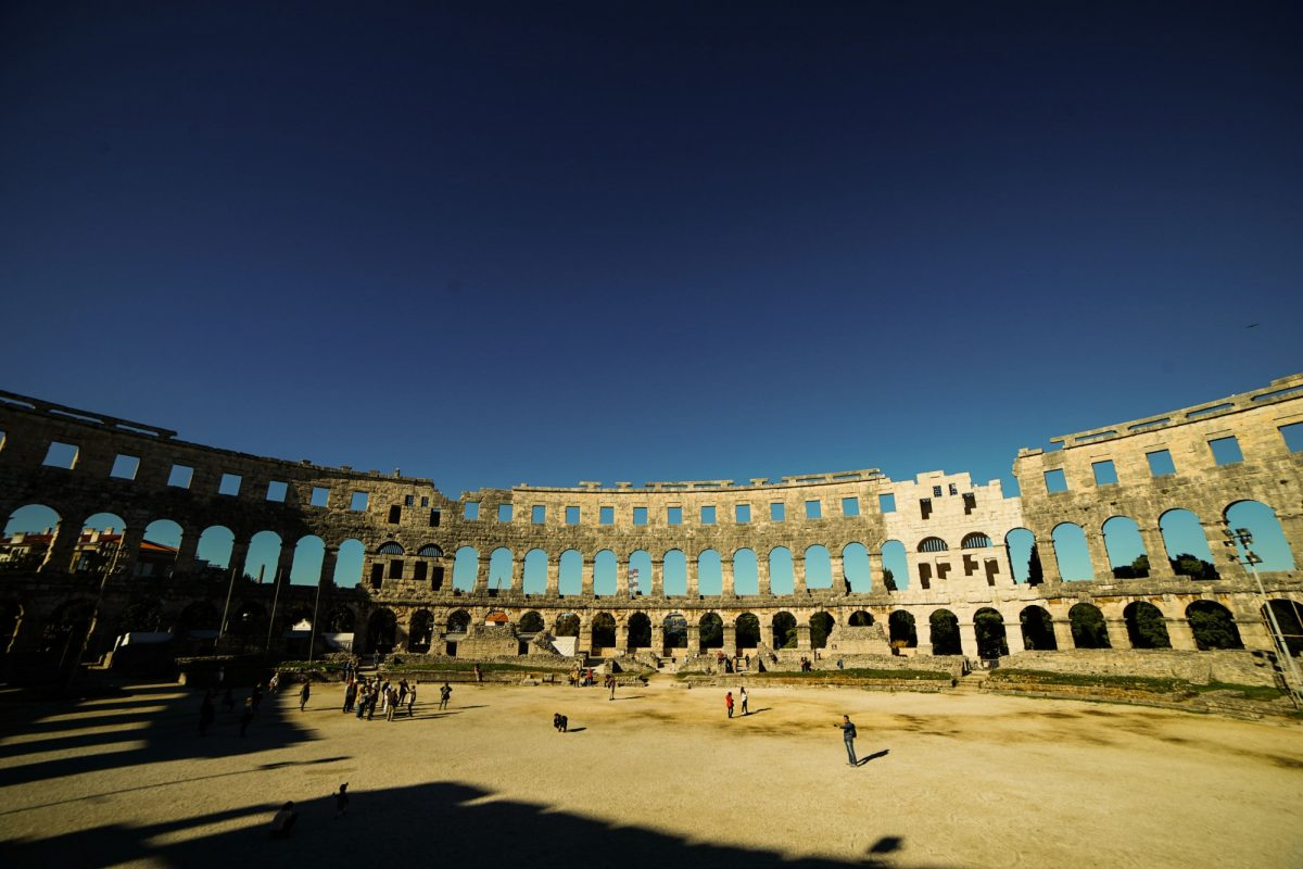 Croatia Pula colleseum