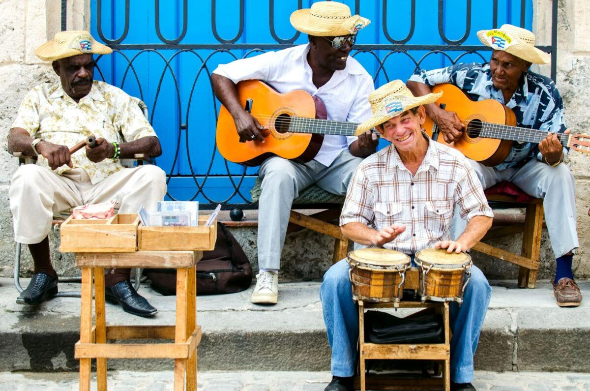 Cuba Havan street musicians