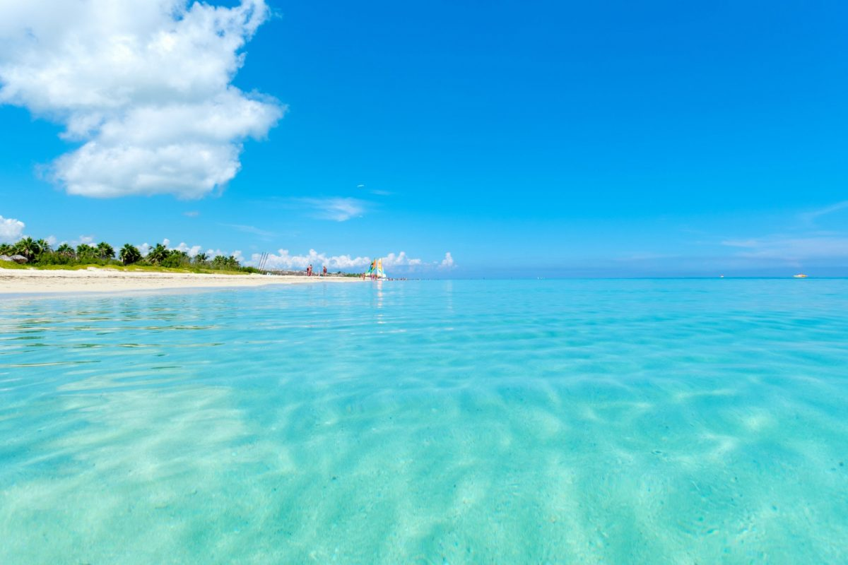 Cuba veradero beach