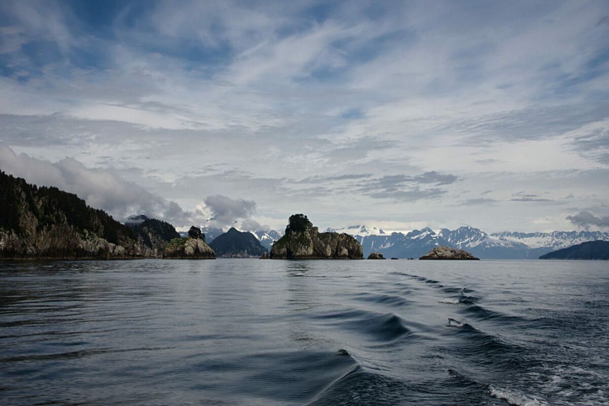 Discovery Bay Kenai Fjords National Park Alaska usa