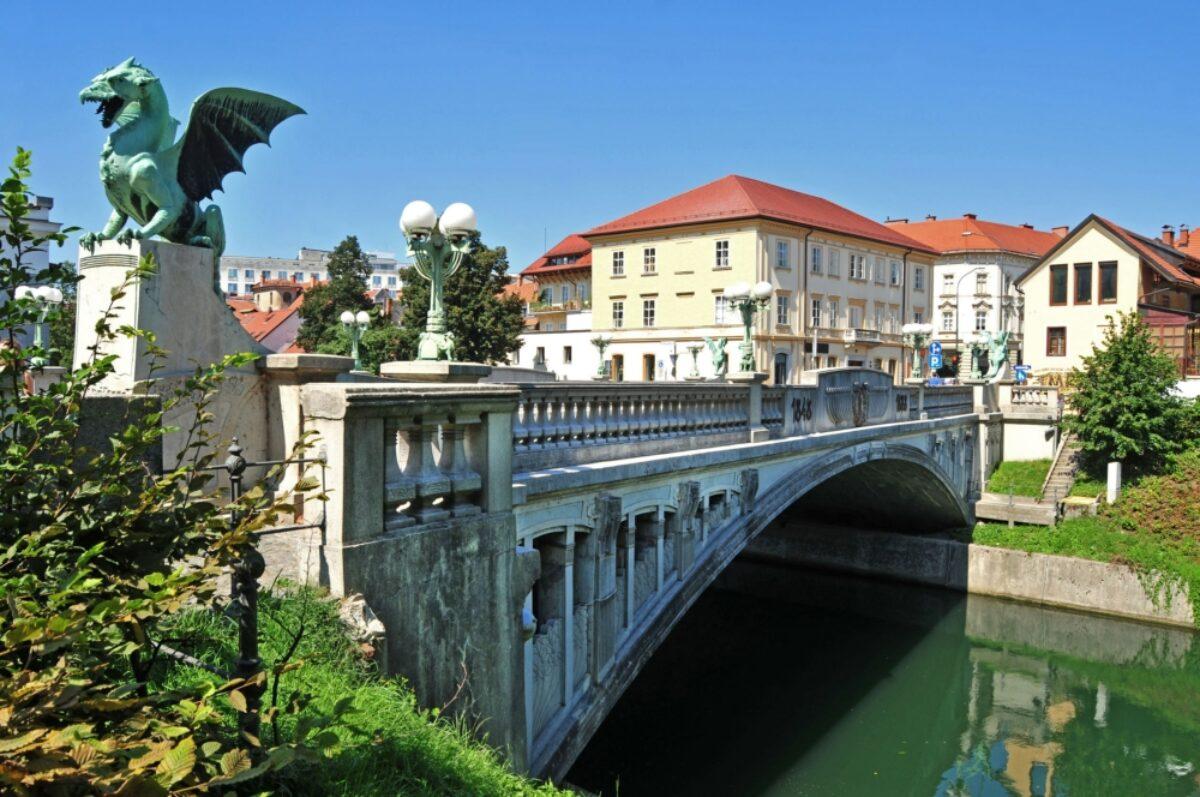 Dragons Bridge Ljubljana