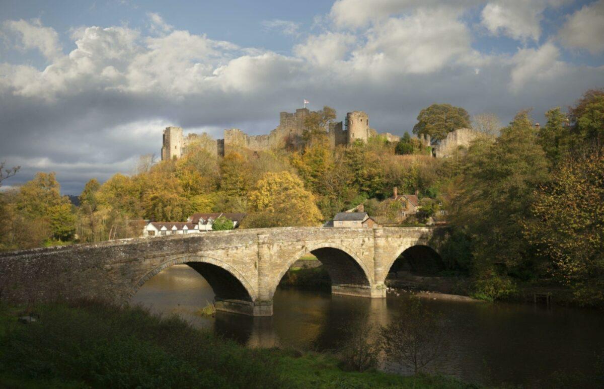 England Shropshire Ludlow Castle