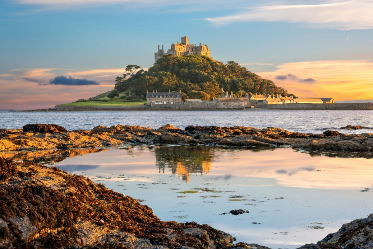 England Cornwall Penzance ST MICHAELS MOUNT