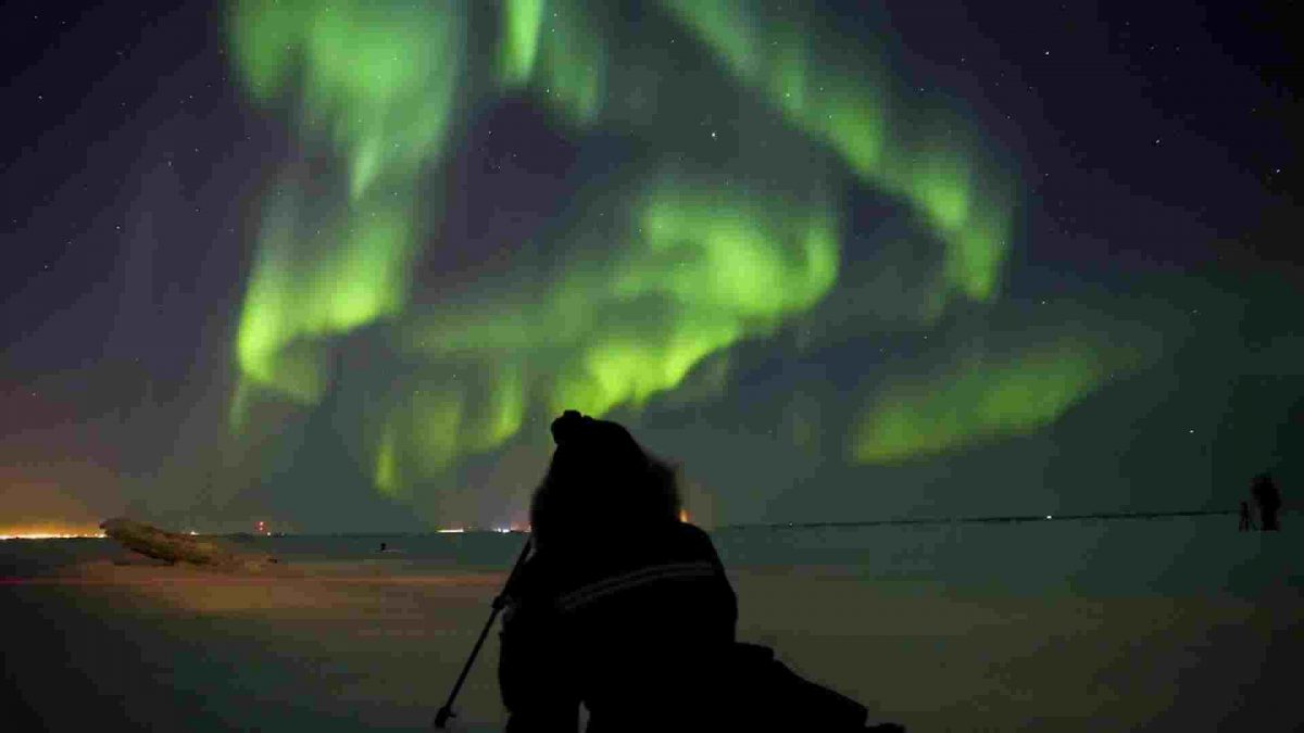 Frontiers North Canada northern lights
