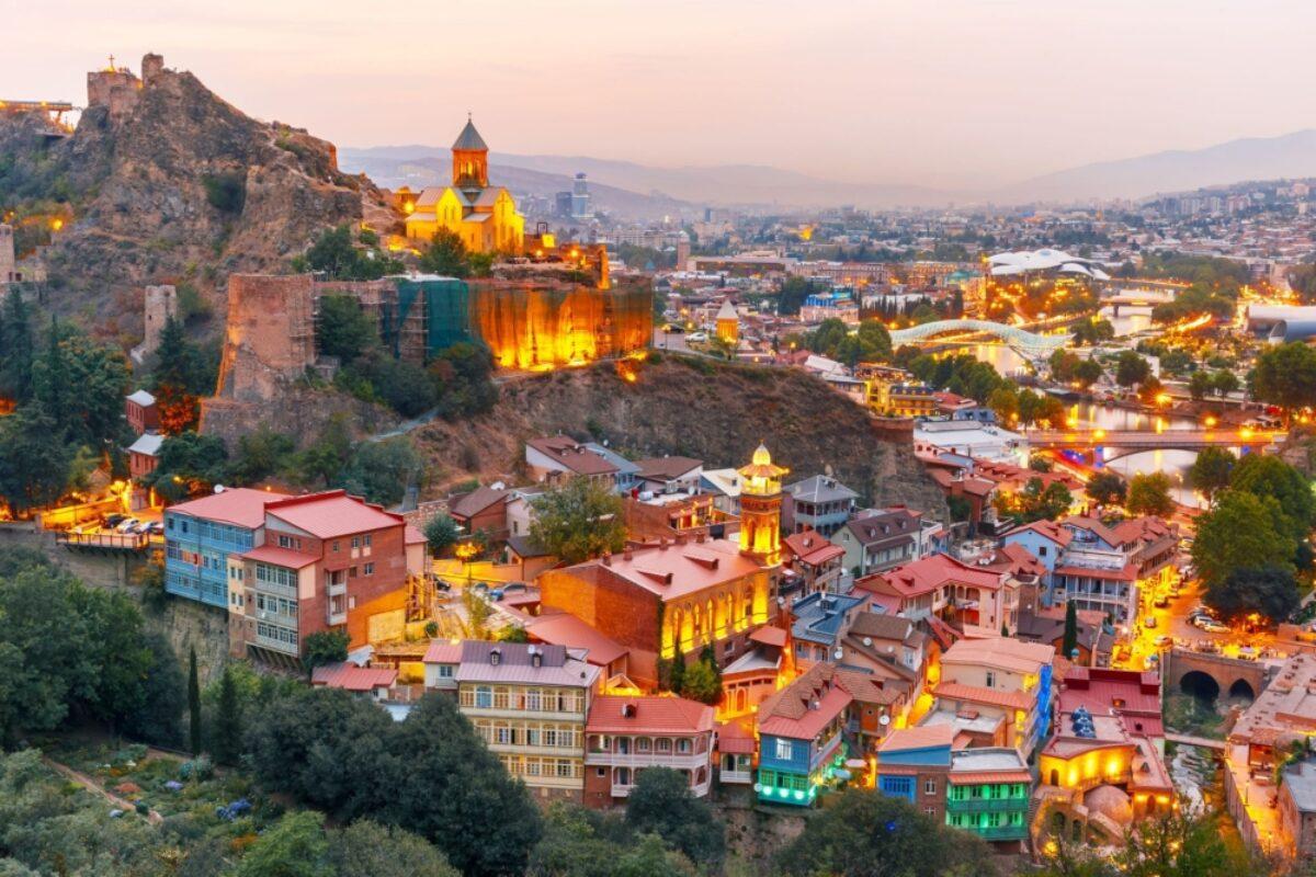 Georgia Tbilisi Abanotubani