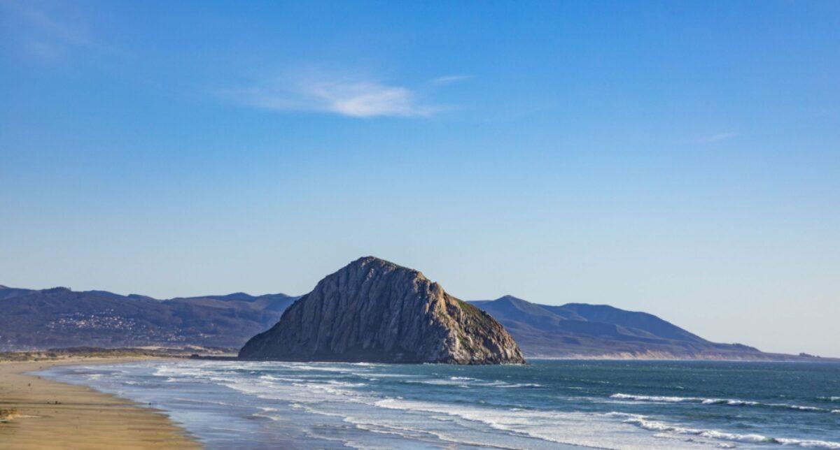 Gibraltar of the Pacific Morro bay California USA