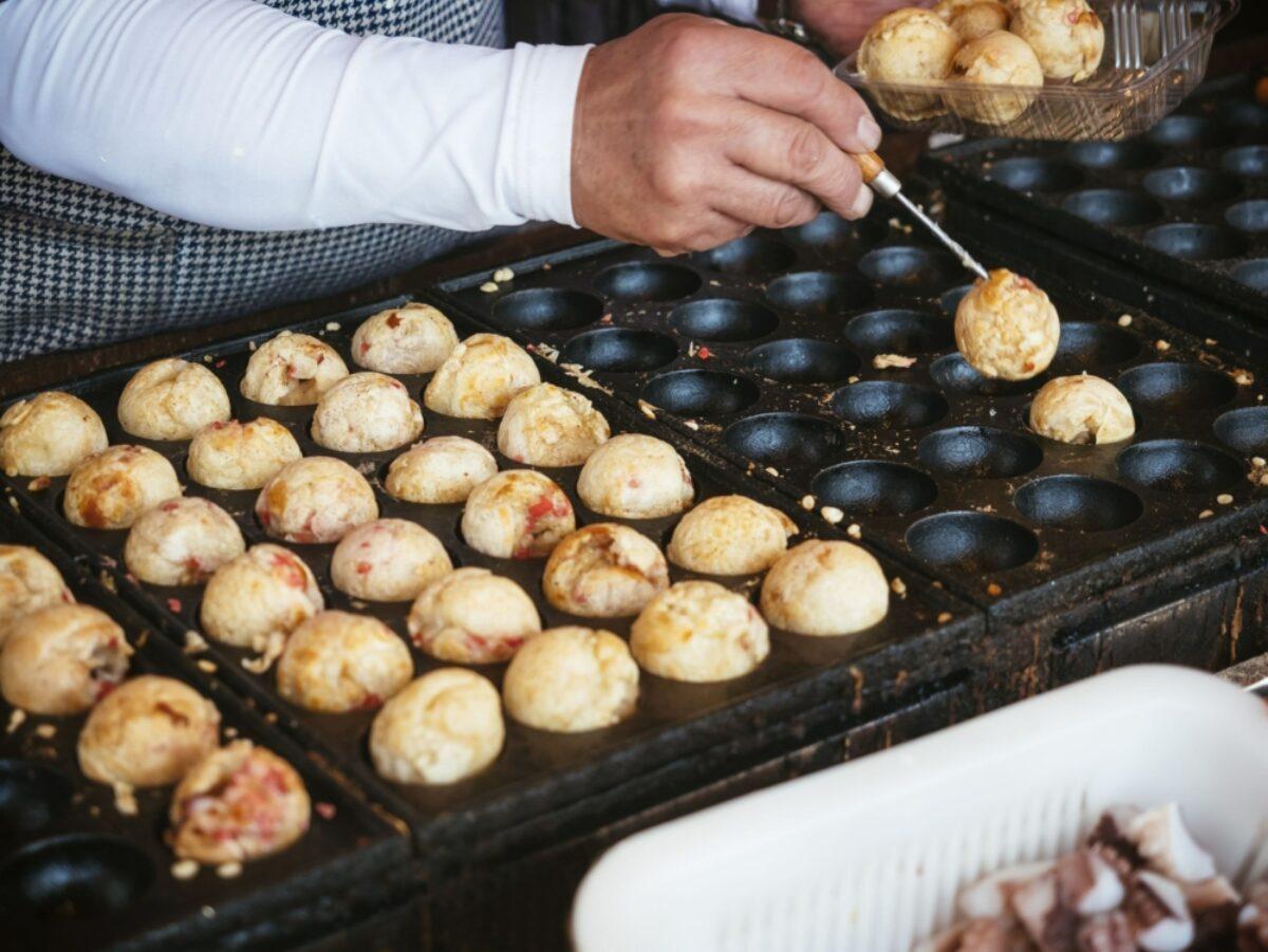 Japan Food Takoyaki Japanese Famous Street Food