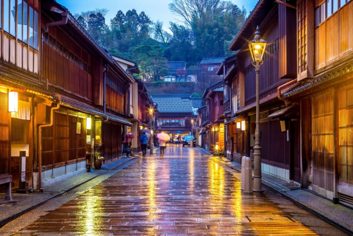 Japan Kanazawa Higashi Chaya District