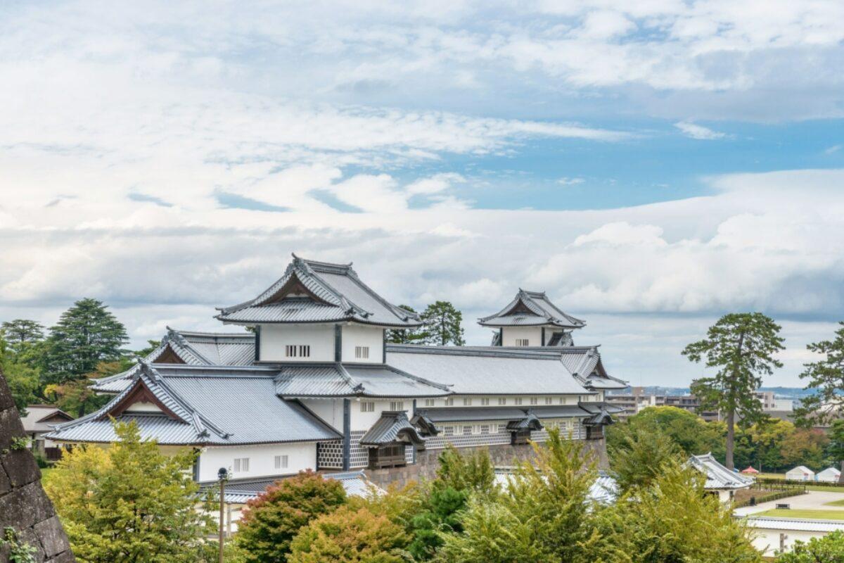 Japan Kanazawa castle park