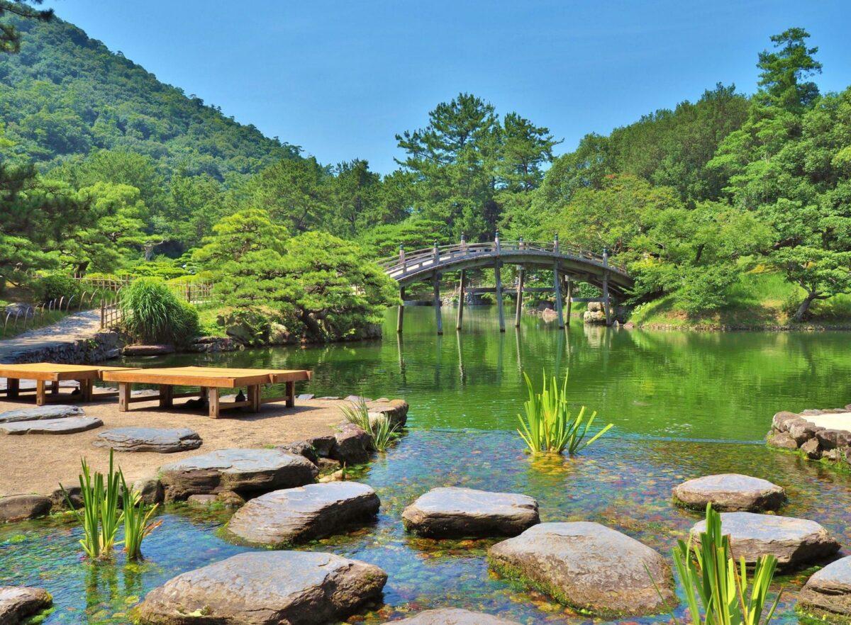 Japan Takamatsu Ritsurin garden