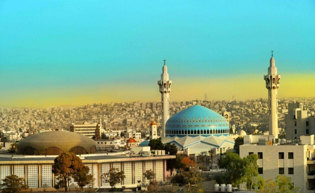 Jordan Amman King Abdullah Mosque