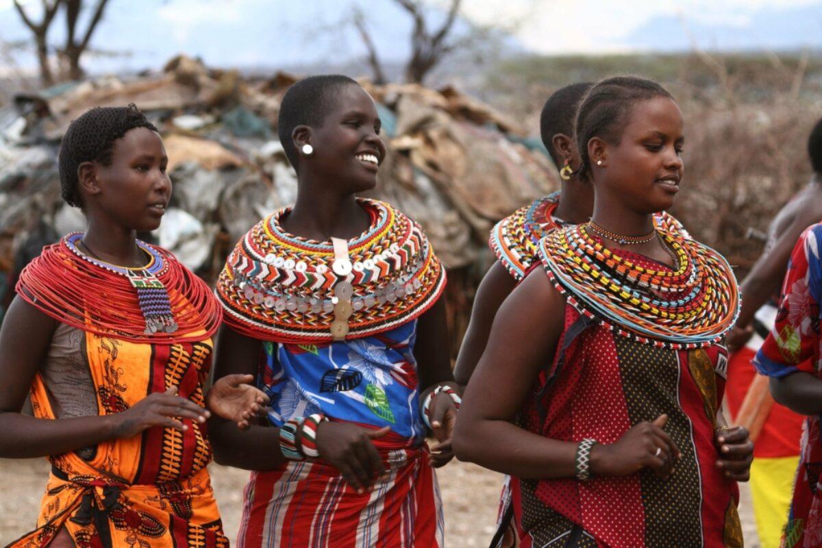 Kenya Samburu Traditional Samburu women in Kenya