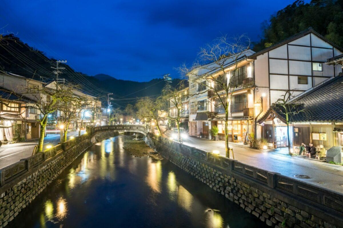 Kinosaki onsen nighttime