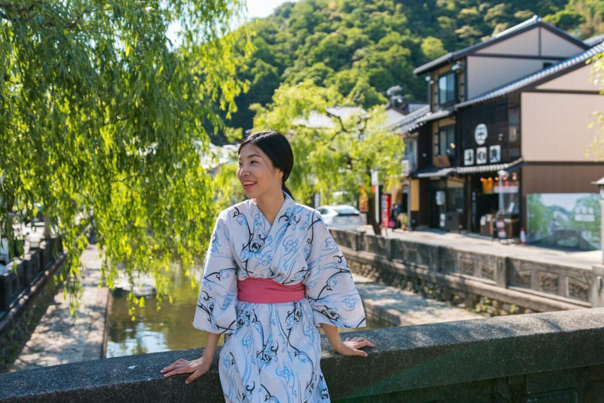 Kinosaki women smiling