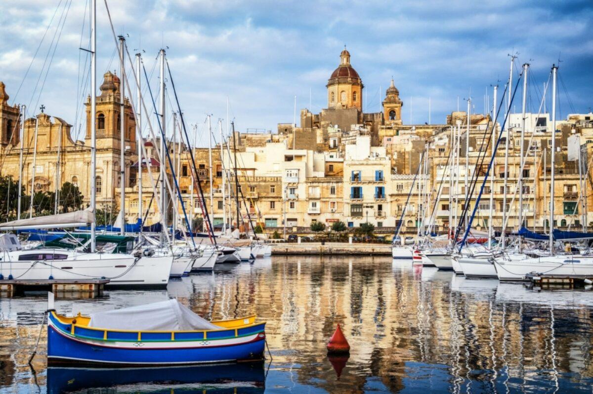 Malta Valetta harbour