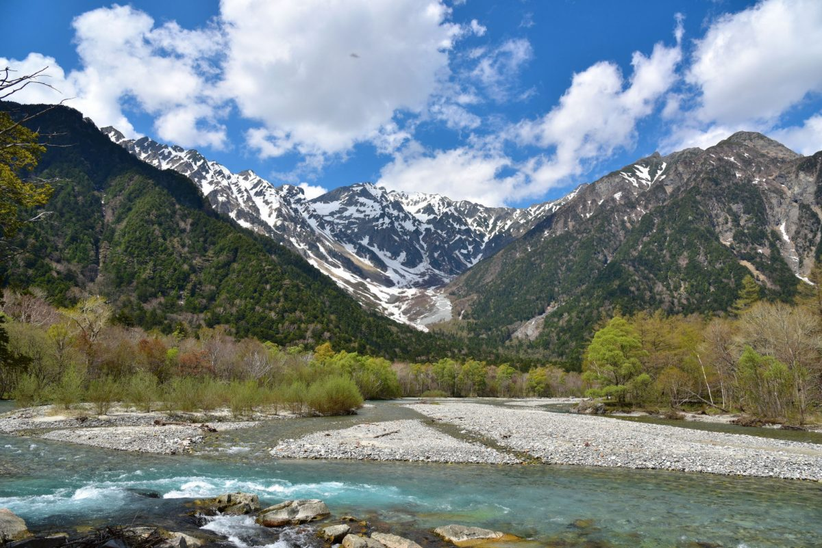 Matsumoto Kamikochi that is a national park
