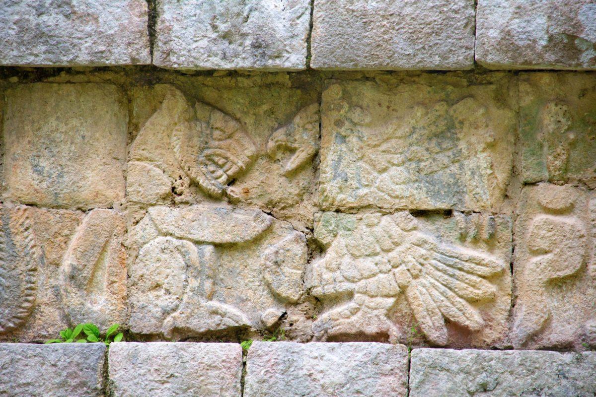 Mexico Chichen Itza symbols