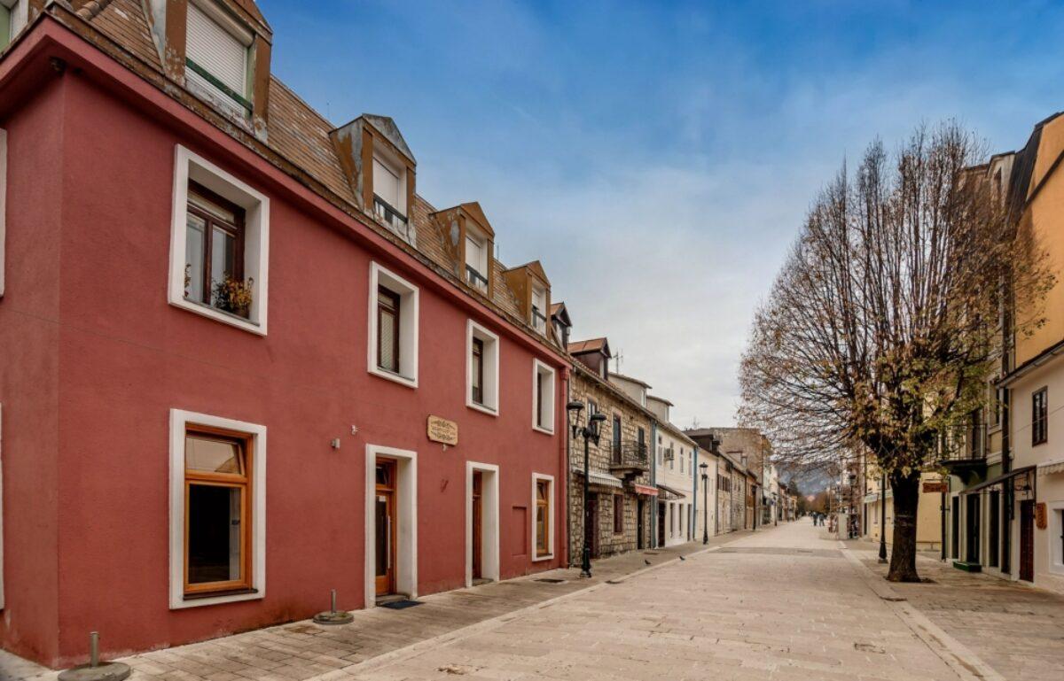 Montenegro Cetinje streets