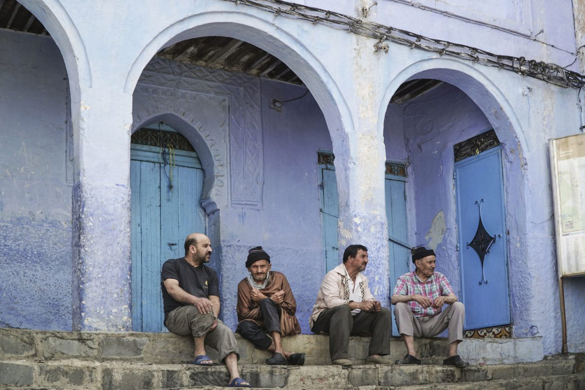 Morocco Chefchaouen Mensitting
