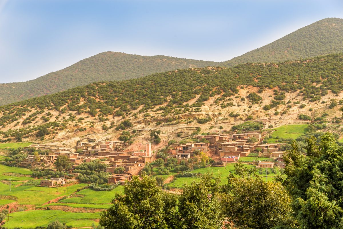 Morocco_High Atlasvillage