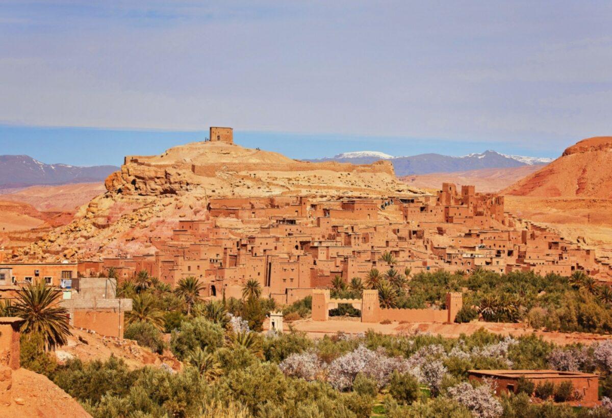 Morocco Ouarzazate Aitbenhaddou