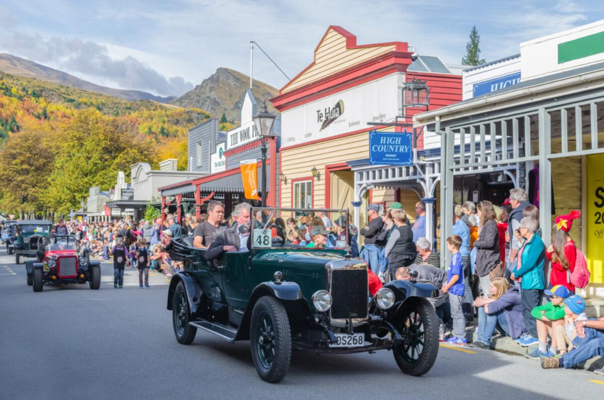 NZ Arrowtown Autumn Festival on Buckingham Street
