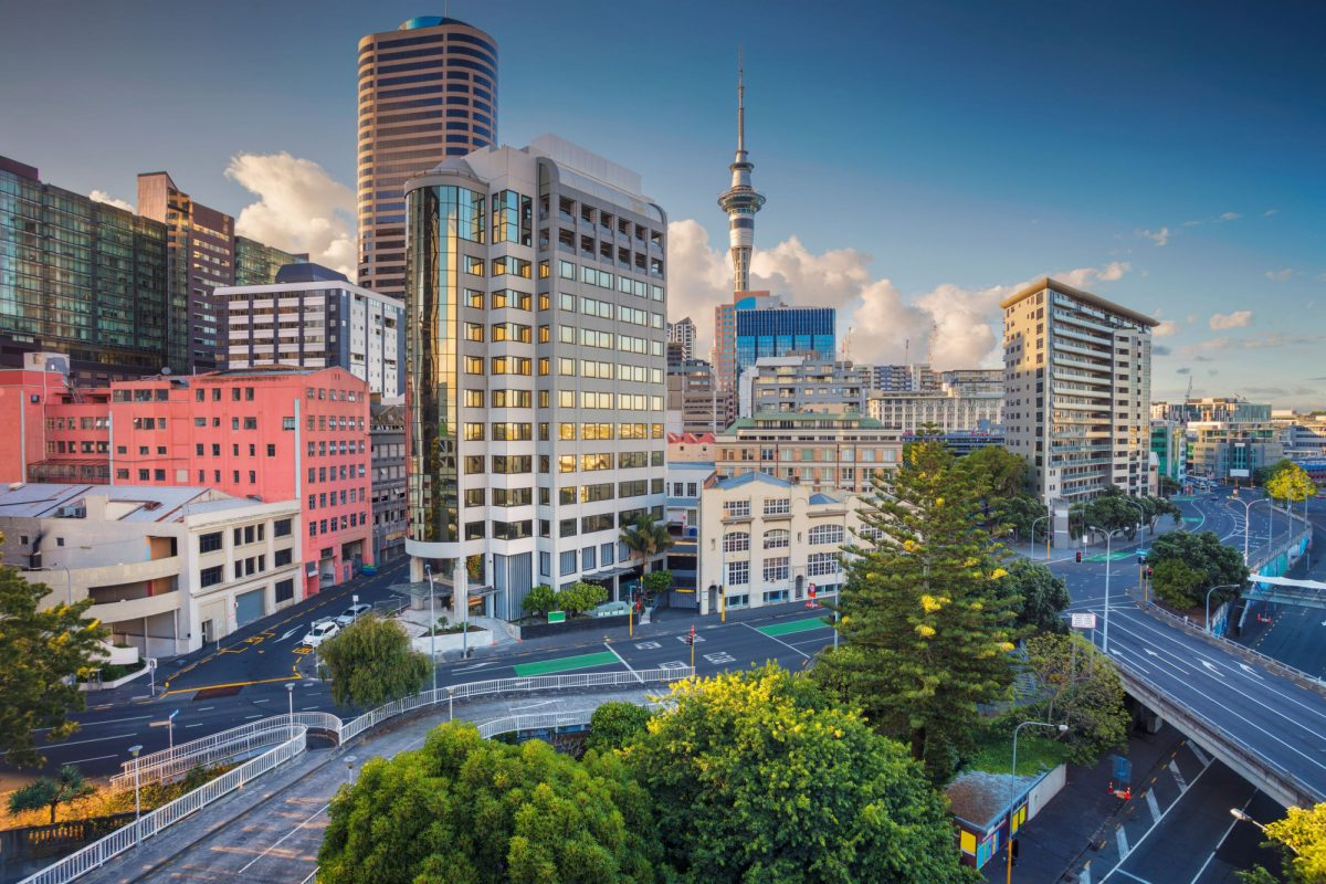 NZ Auckland skyline