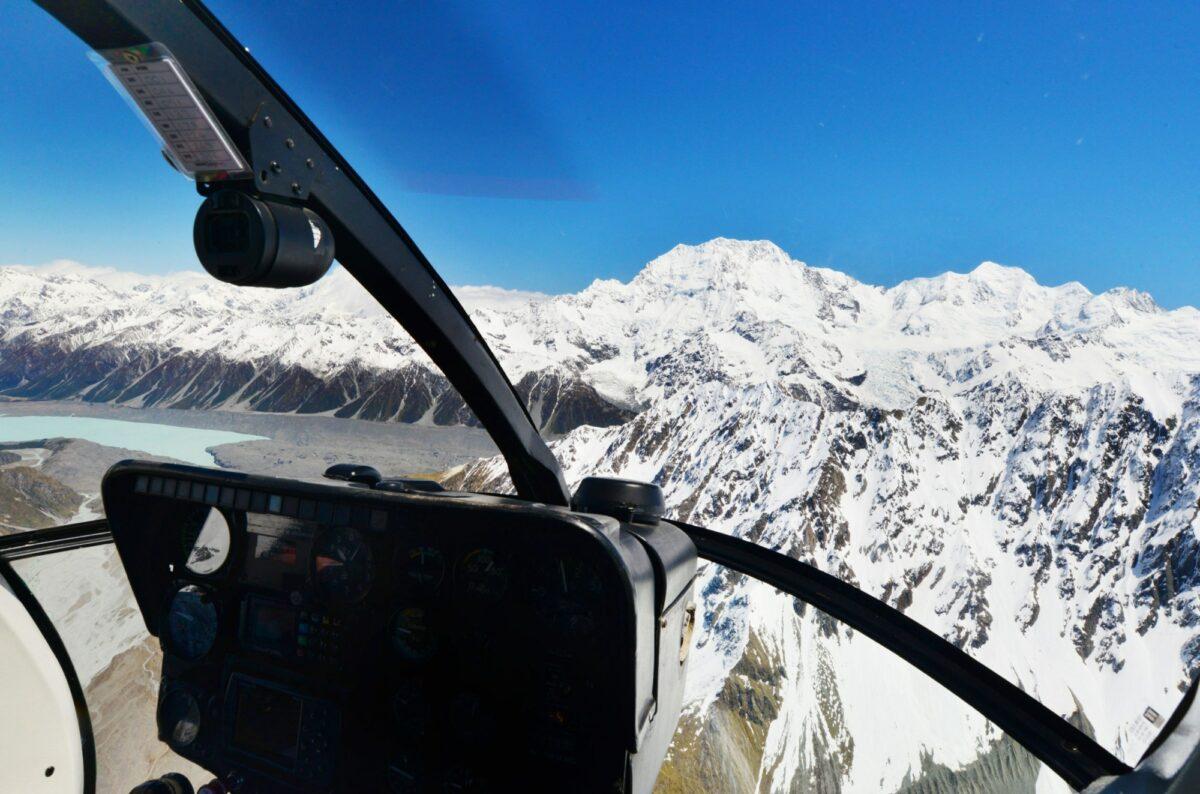 NZ Franz Josef Glacier helicopter