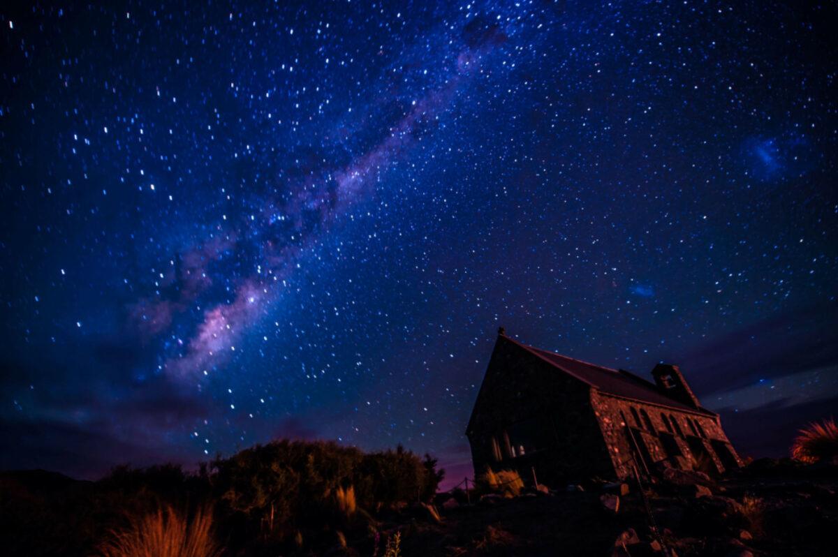 NZ Lake Tekapo nightsky
