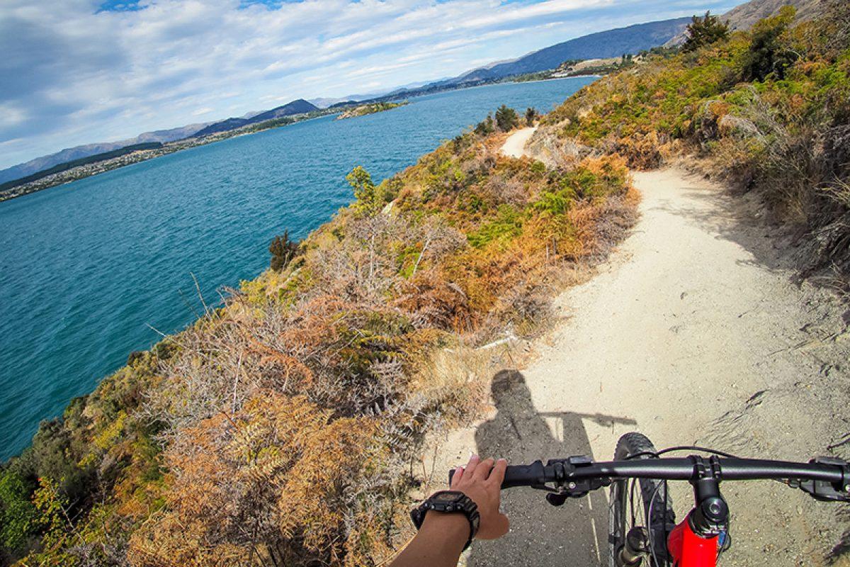 NZ Wanaka biking