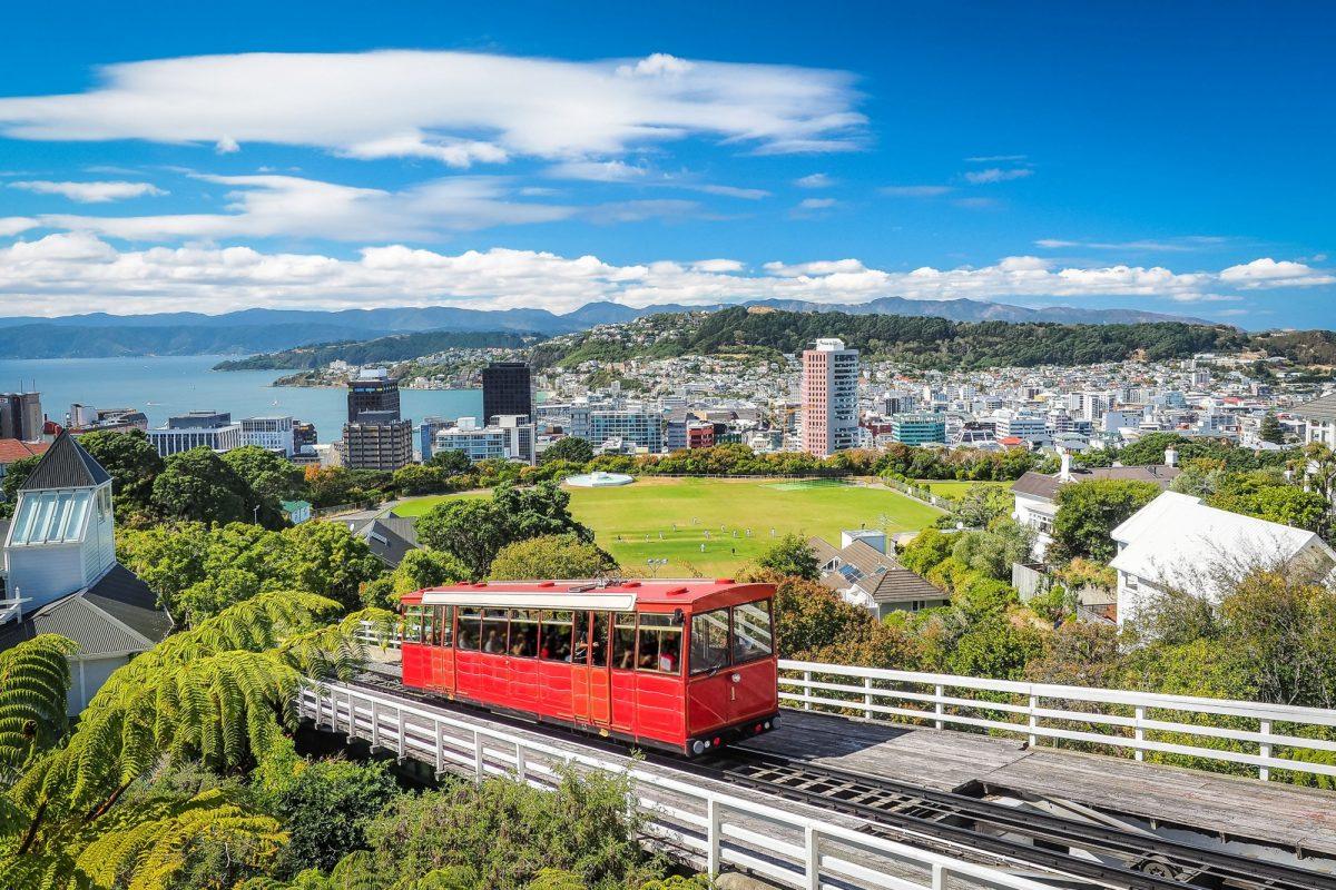 NZ Wellington cablecar