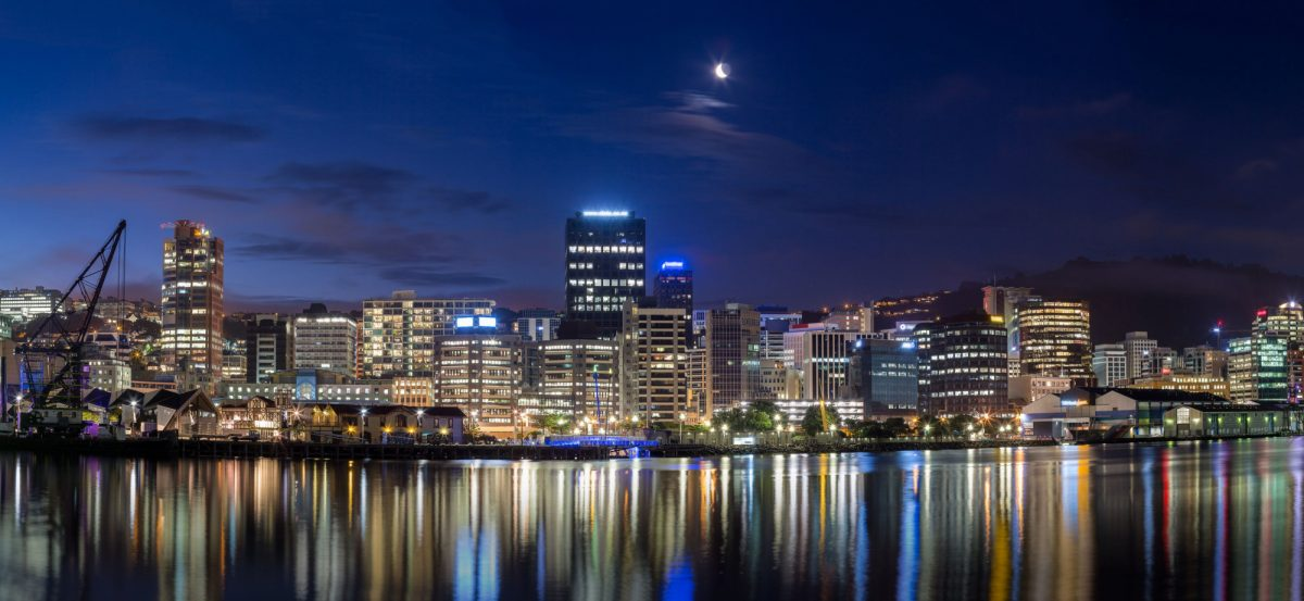 NZ Wellington skyline