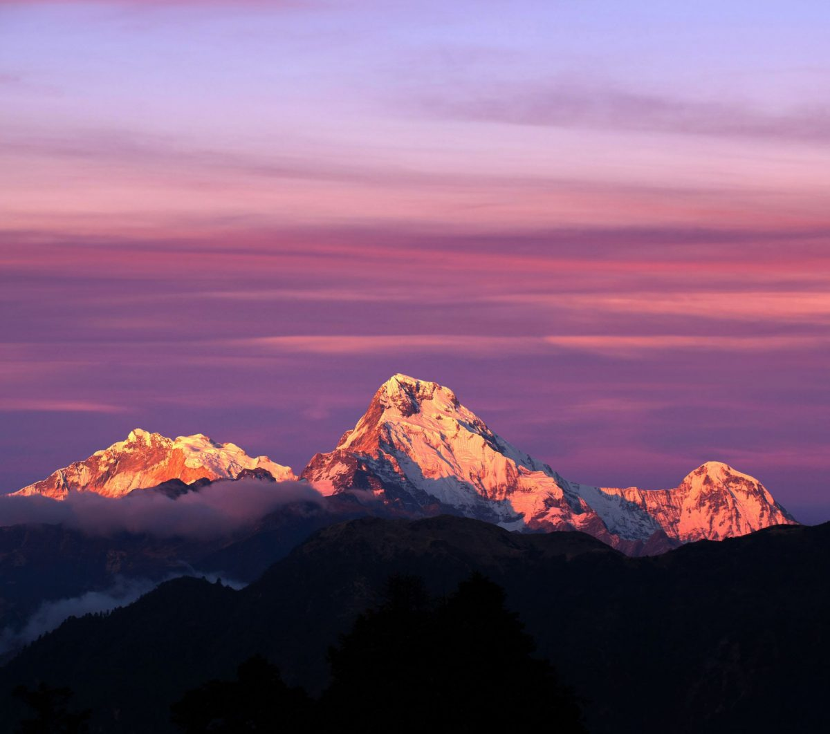 Nepal Annapurna Poon Hill sunrise