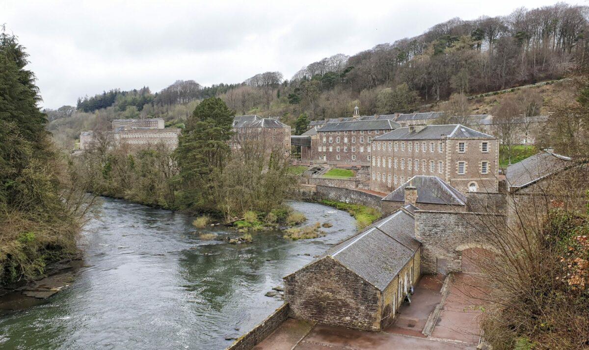 New Lanark and Falls of Clyde Circuit Scotland UK