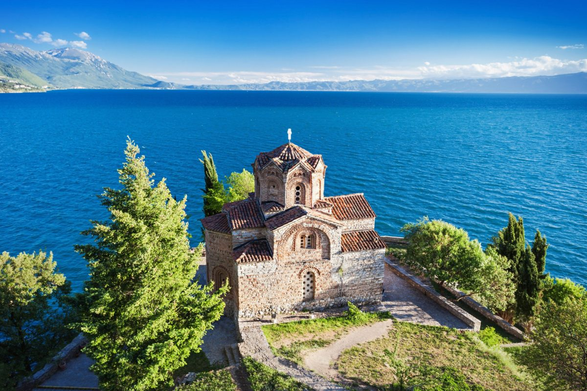North Macadonia Lake Ohrid