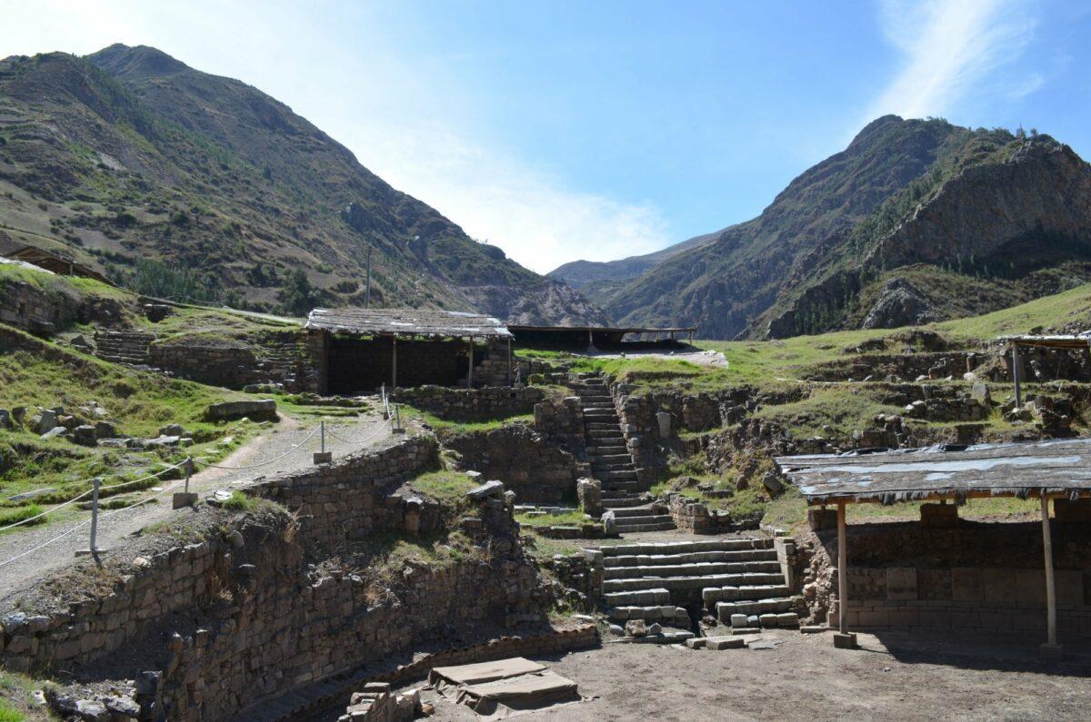 Peru Chavín de Huántar external