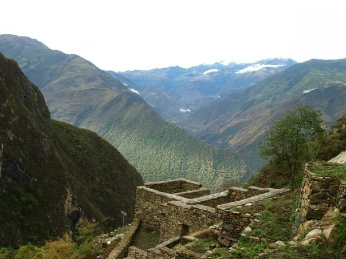 Peru Choquequirao view