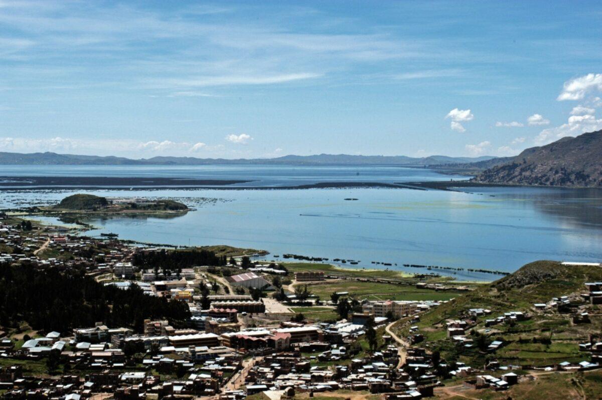 Peru Lake Titicaca Puno view