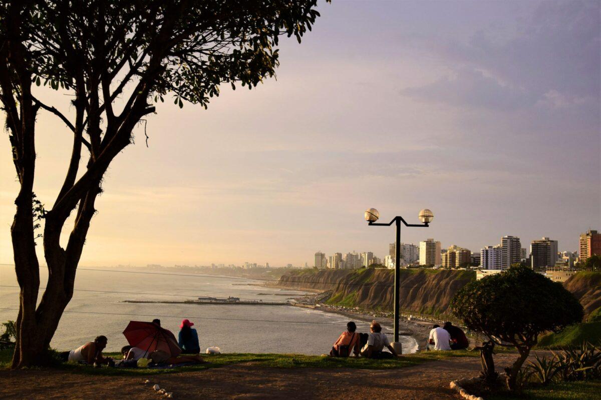 Peru Lima malecon