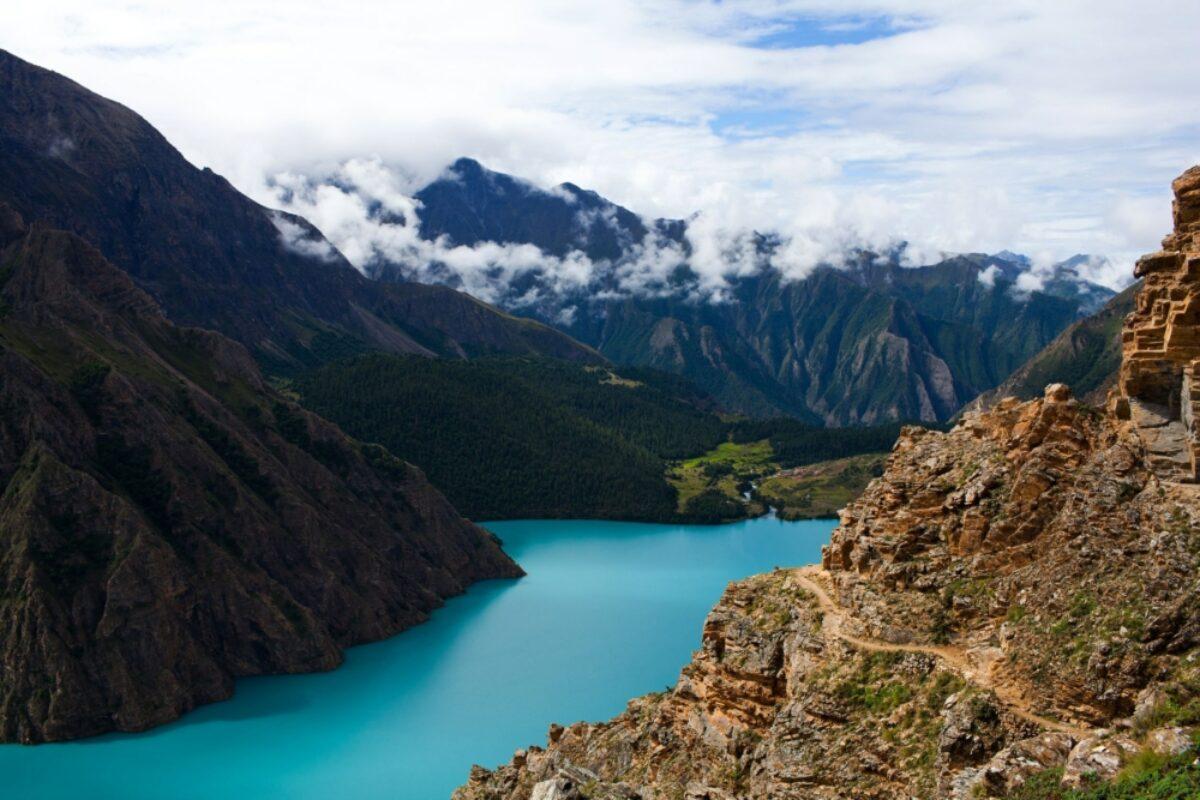 Phoksundo Lake in Dolpo Nepal