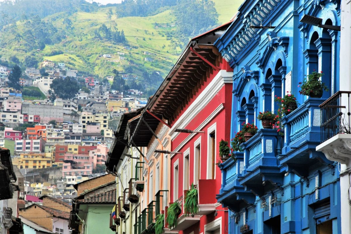 Quito colonialarchitecture
