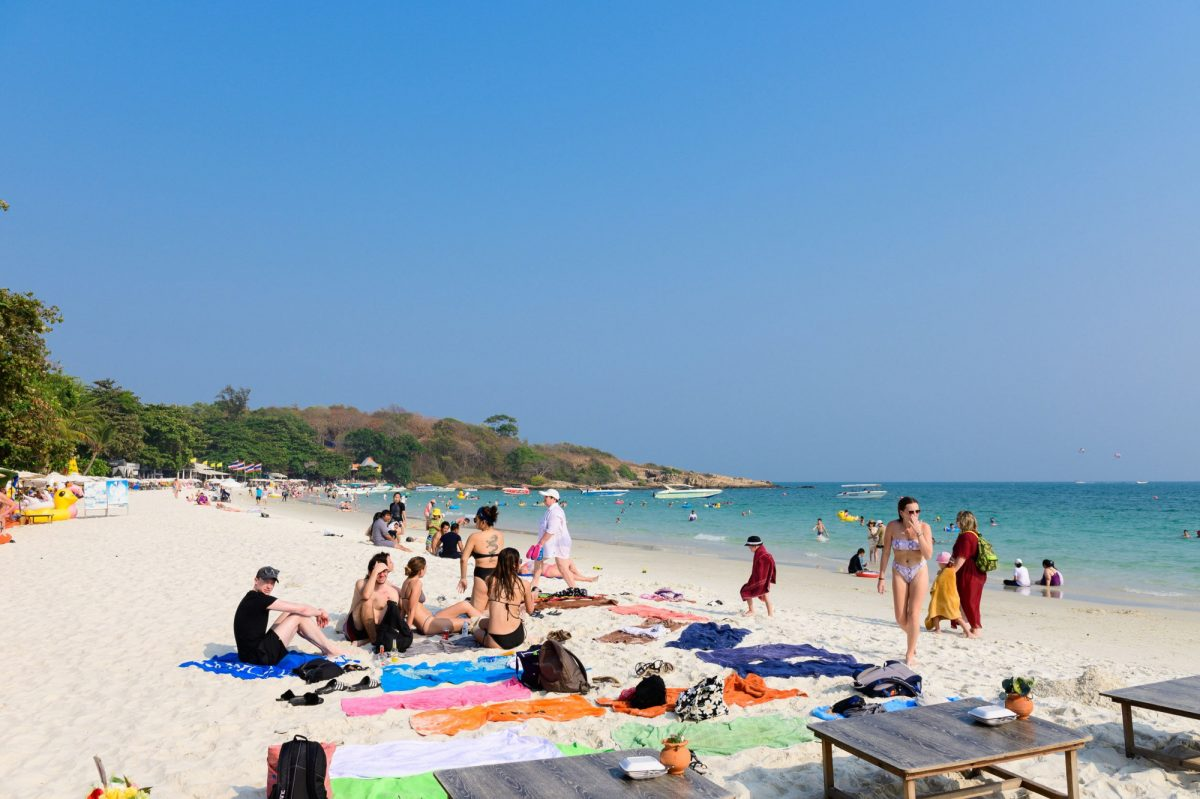 Sai Kaew beach Koh Samet thailand