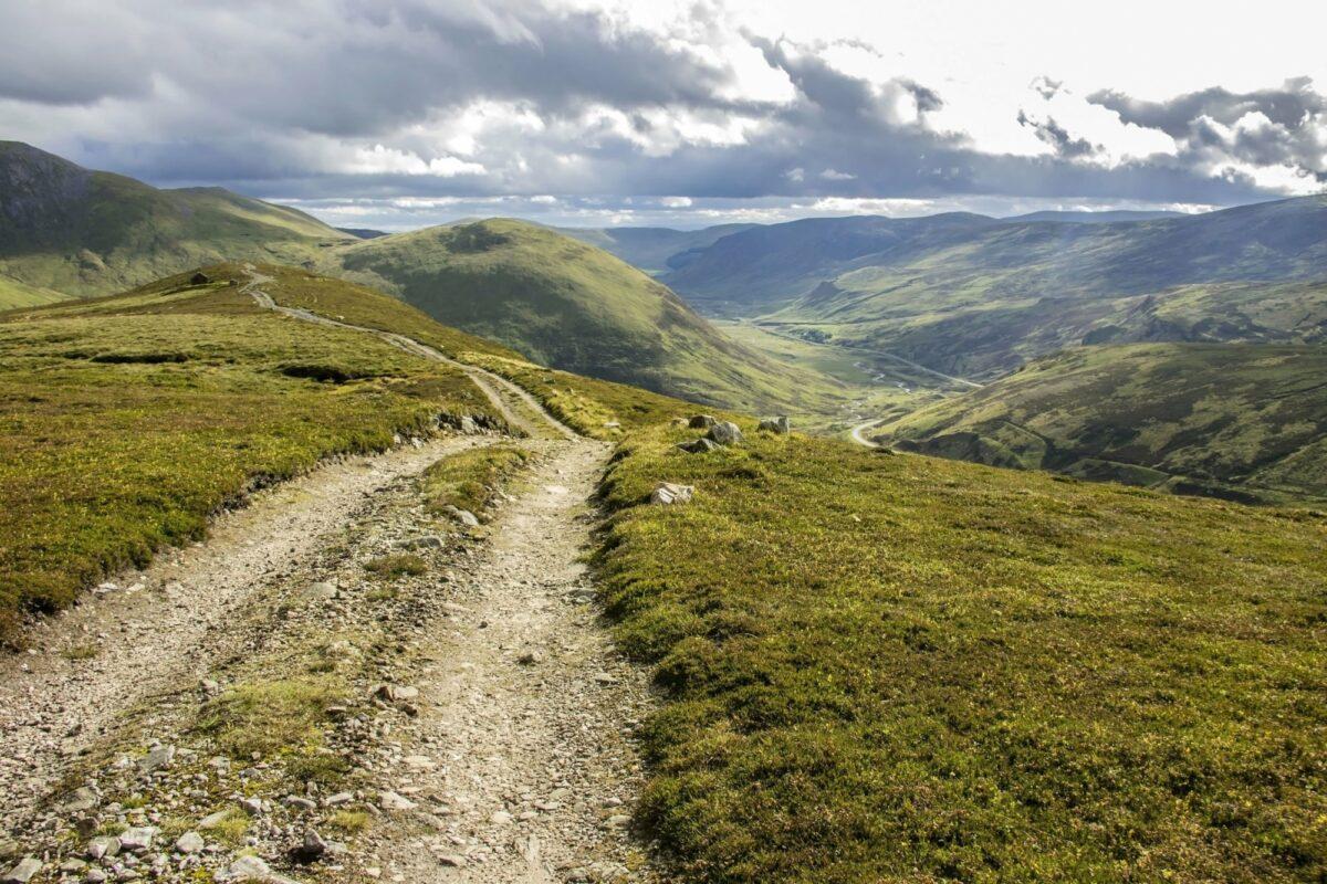 Scotland deeside Way Braemar Aberdeenshire