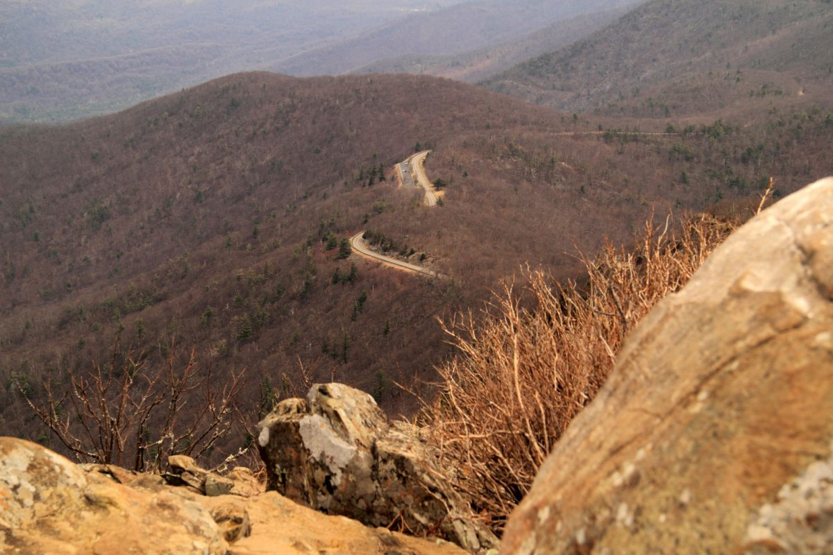 Skyline Drive Appalachian Mountains Shenandoah National Park USA virginia