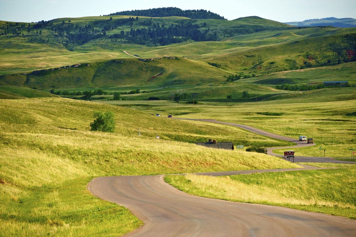 South Dakota black hills Custer Park near Rapid City usa