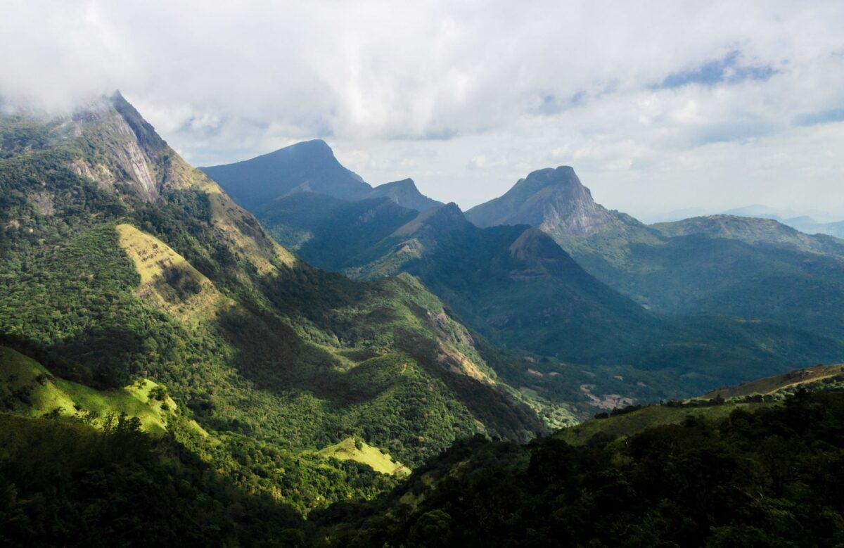 Sri Lanka knuckles mountain range corbetsgap